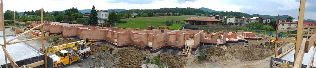 Výstavba řadových domů nezůstává pozadu!